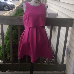 ASOS Pretty in Pink Dress Size 8